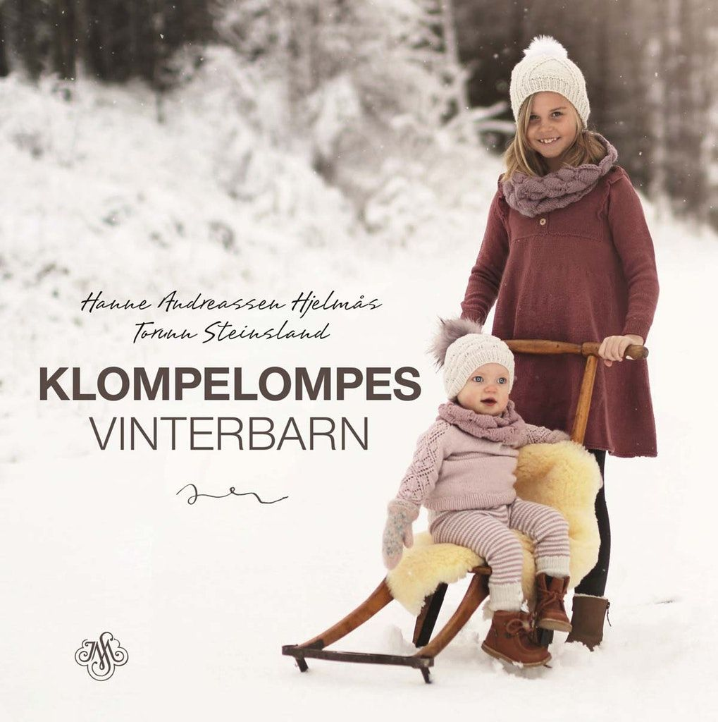 Klompelompes vinterbarn: Izzy isbjørn genser | Genser