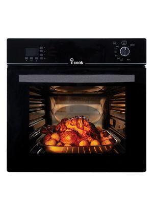 فرن غاز اي كوك بلت ان ديجيتال بشواية 70 شواية اسود Bo6060g 119 Dsf Toaster Oven Oven Kitchen Appliances