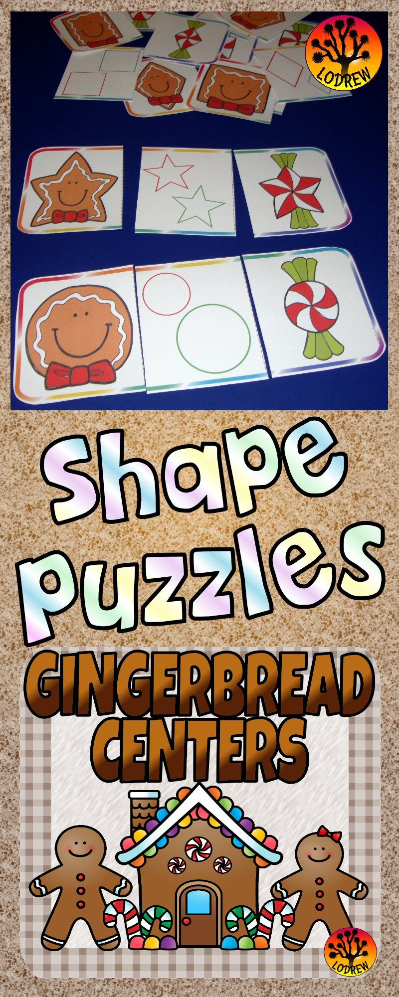Gingerbread Centers Activities Christmas Centers Winter Math ...