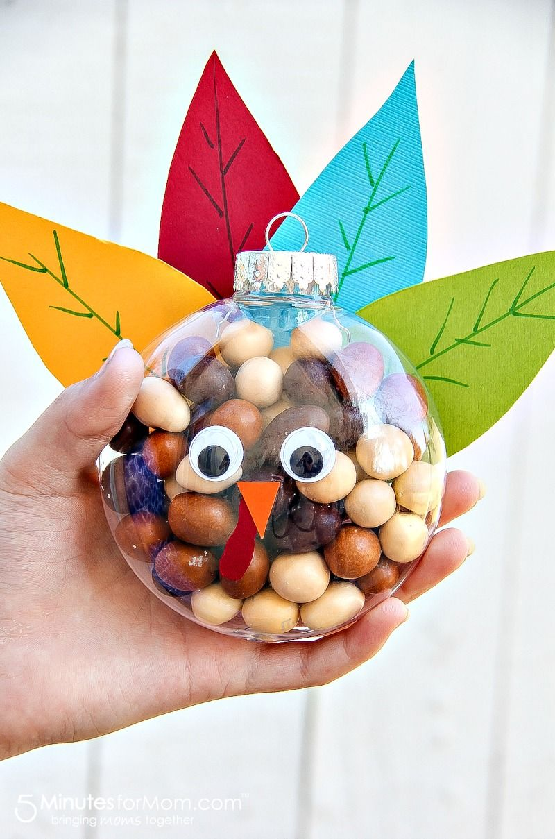 Turkey Treats for Thanksgiving - Easy Fall Craft   Easy ...
