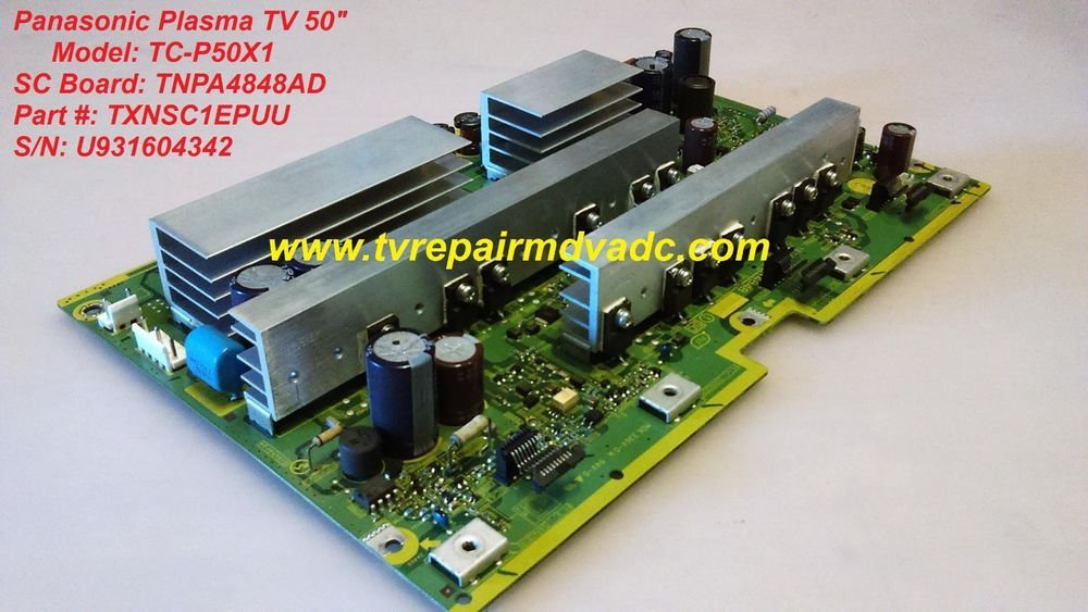Panasonic Tc P50x1 Sc Board Tnpa4848ad Txnsc1epuu Service Mode Tip Panasonic Ebay Graphic Card Panasonic