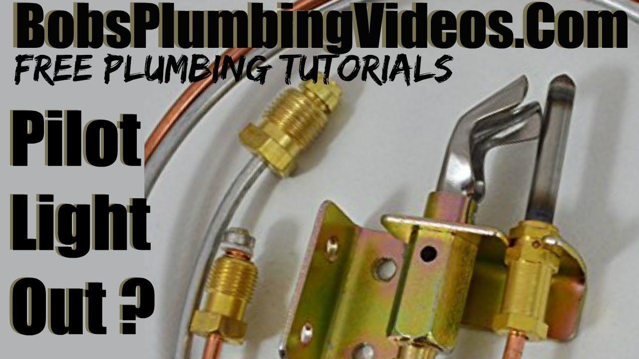 Gas Water Heater Pilot Light Plumbing, Water, Pilot