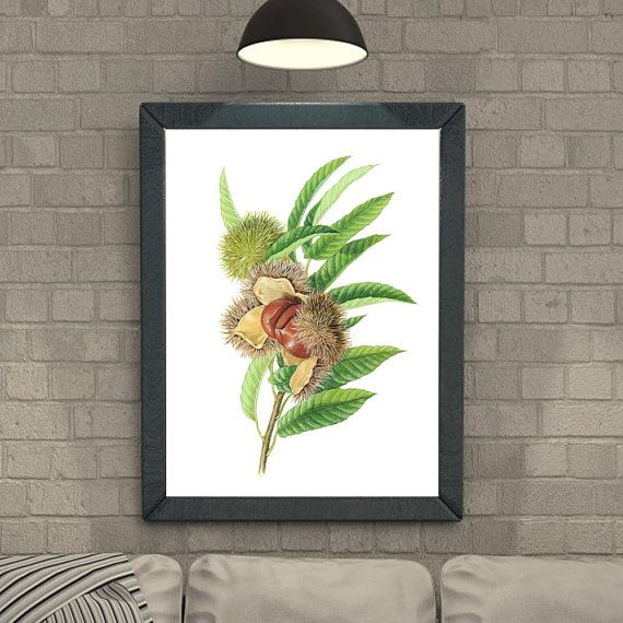 Jujube Tree Jujube Fruit Home Décor Wall Printable