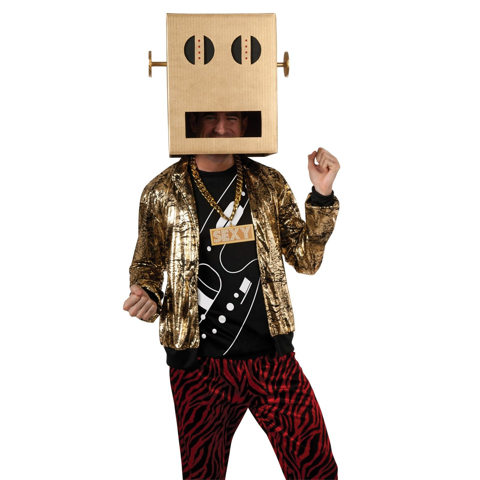 LMFAO Shuffle Bot Party Rock Anthem Adult Costume 803798 ...