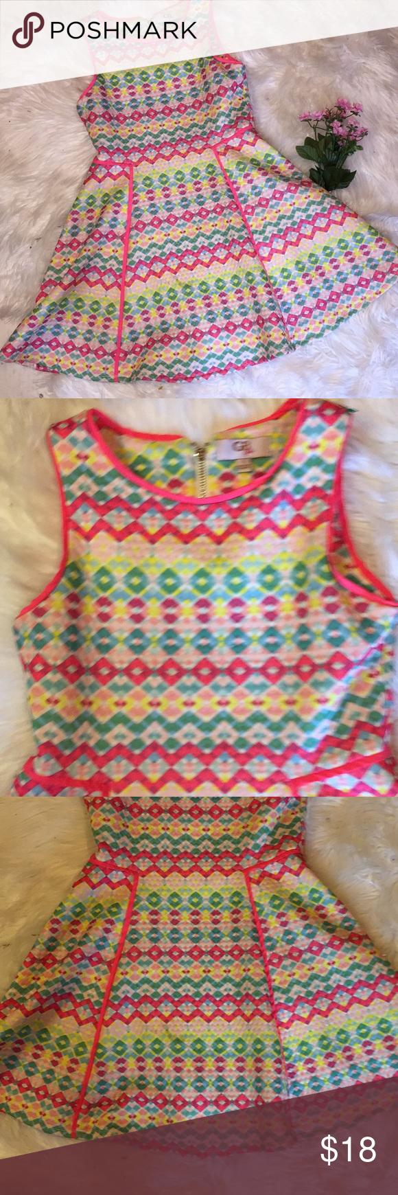 e2c96b4f27b GB Girls Summer Twirl Dress Sz 8 Gianni Bini GB Girls Dress Sz 8 Perfect  dress