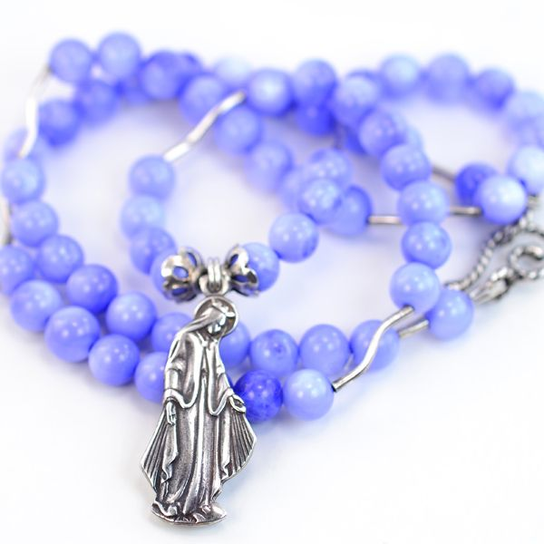 Periwinkle & Miraculous Medal | On This Day Designs