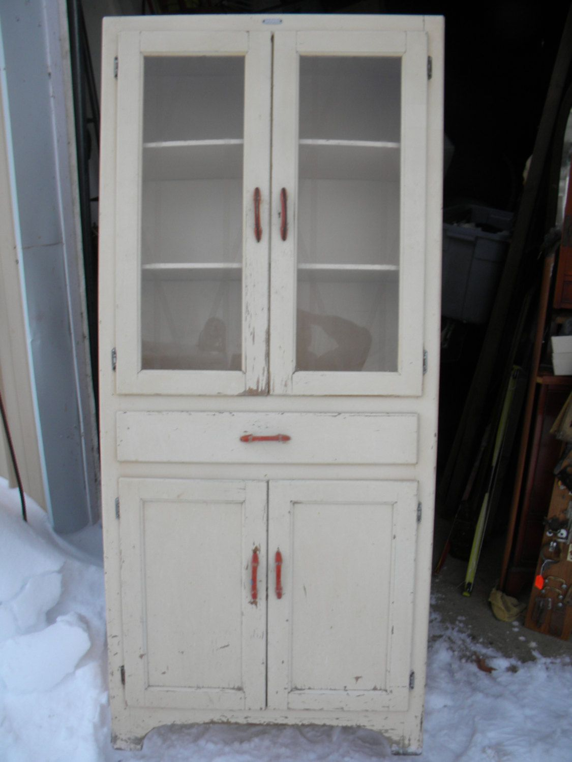 Vintage Antique 1930s 1940s Kitchen Cabinet Cupboard Pantry Vintage Kitchen Pantry Cabinet Kitchen Pantry Cabinets