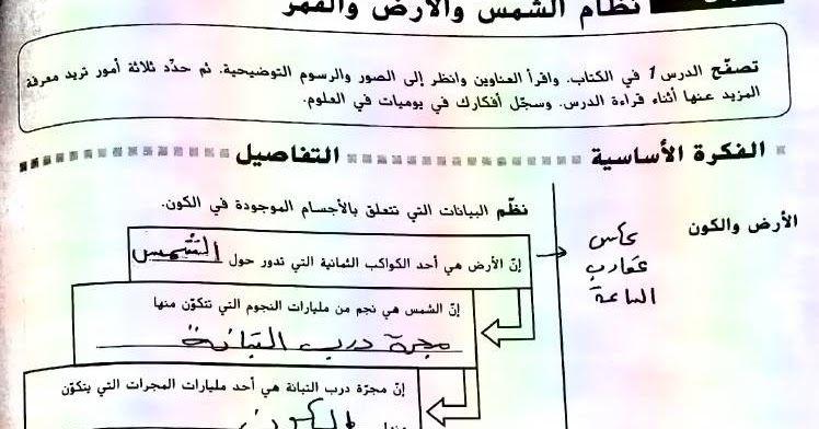 موقع مدرسة الإمارات ننشر لكم حلول كتاب العلوم للصف السادس الفصل الدراسى الثالث 2019 وفقا لمنهاج وزارة التربية والتعليم بدولة الامارات العرب Math Science School