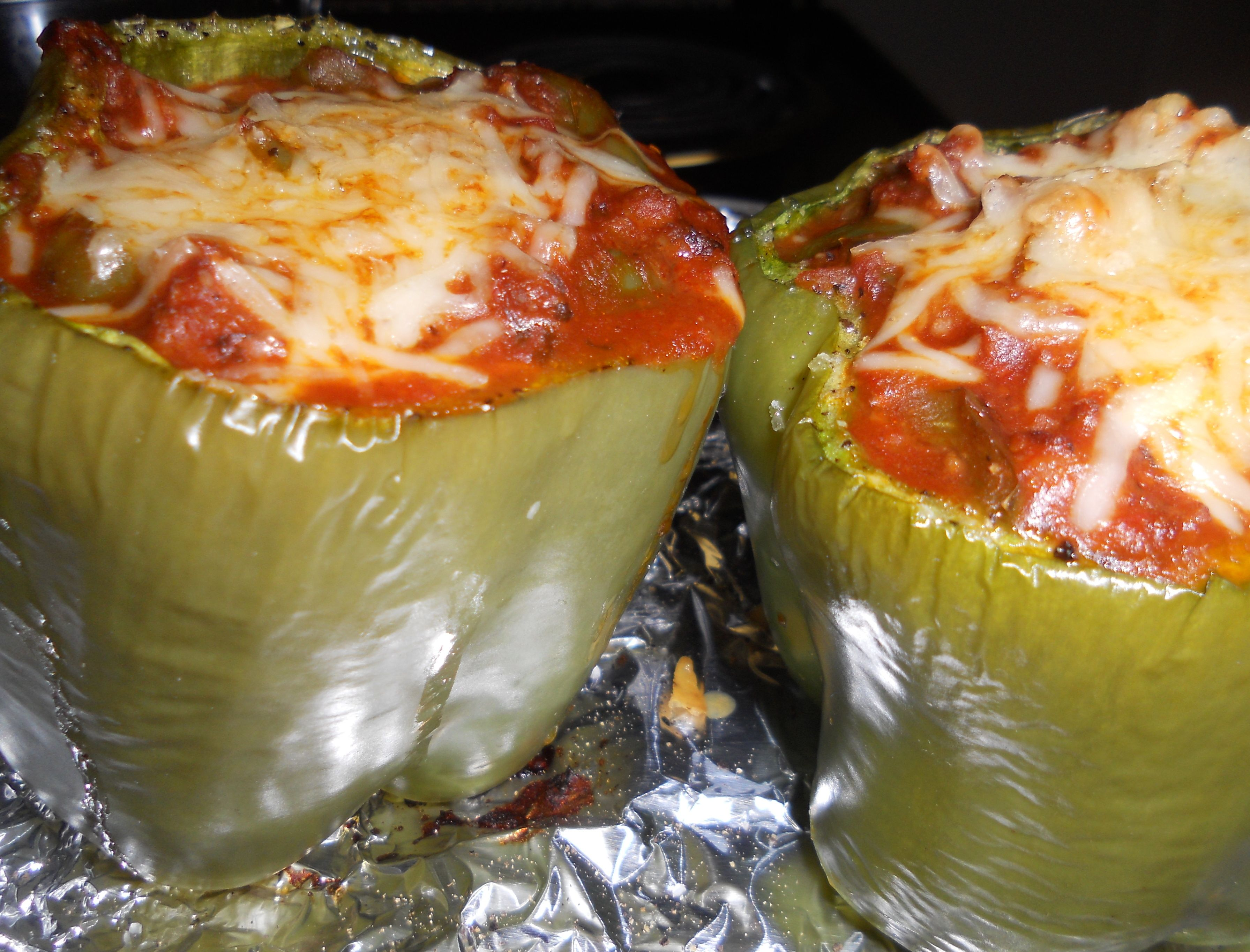 Stuffed Green Peppers Stuffed Green Peppers Food Recipes