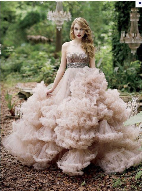 Taylor Swift Enchanted Fairy Wedding Dress Wedding Dresses Dream Wedding Dresses
