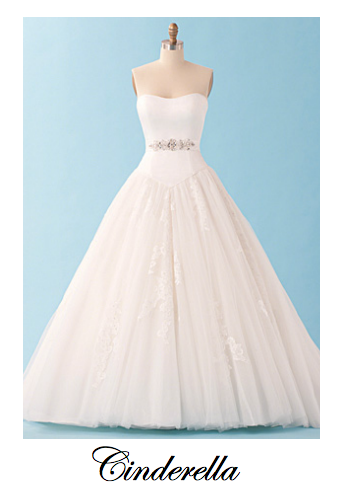 Wedding Dresses inspired by Disney Princess #Cinderella | Because I ...
