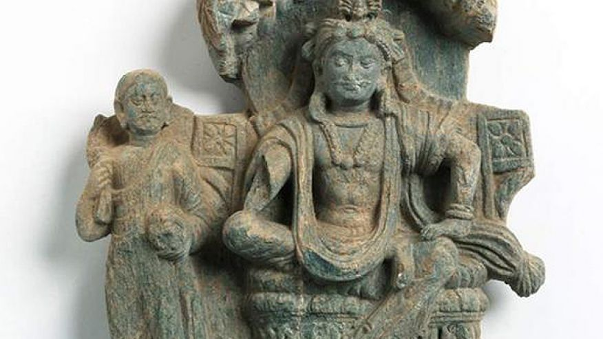 Ancient statue reveals prince who would become Buddha. http://www.foxnews.com/scitech/2012/06/07/ancient-statue-reveals-prince-who-would-become-buddha/