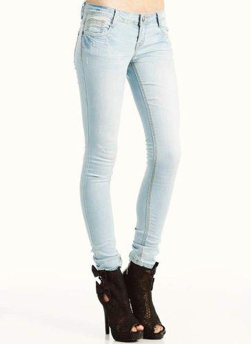 pale skinny jeans