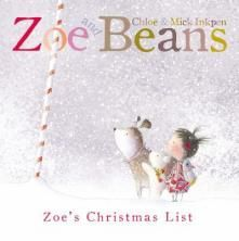 """Zoe and Beans: Zoe's Christmas List is nothing short of adorable. This is because of the sweet, snowy, and soft illustrations and the heart-warming animal / human friendships portrayed in the story. The best part has to be the fold out pages where little bear goes on a very long swim and faithful and obedient Beans dives in to rescue him.  Put it under the tree. Read it to your little one, human or canine."" recommended by Shelf Elf!"