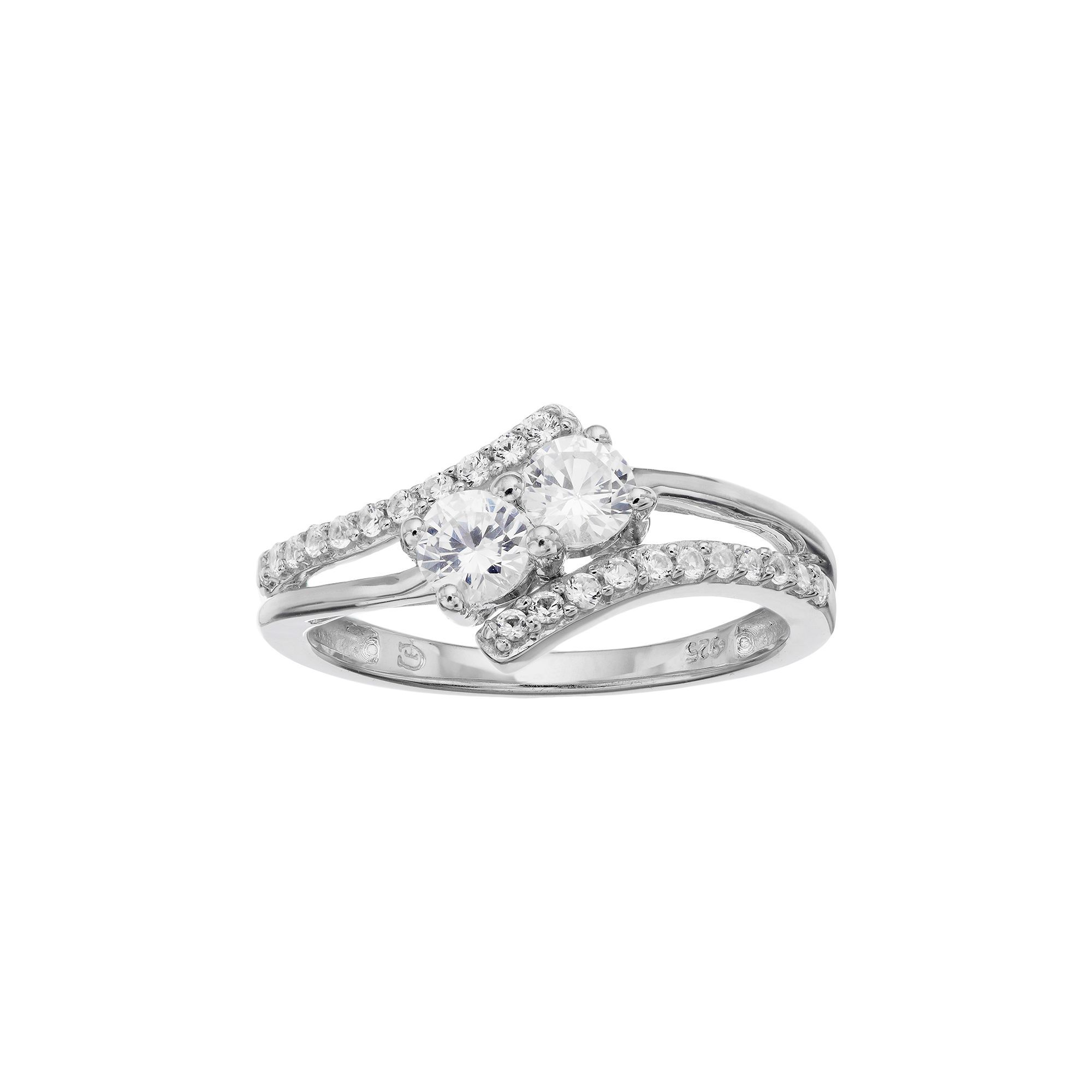 rakuten gold diamond stone rings product solitaire white shop ring us two carat engagement forever