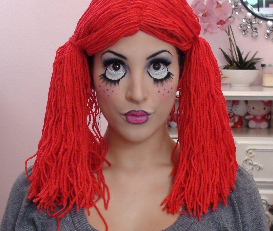 Cute Rag Doll Toy Halloween Makeup Tutorial | Videos - Tutorials ...