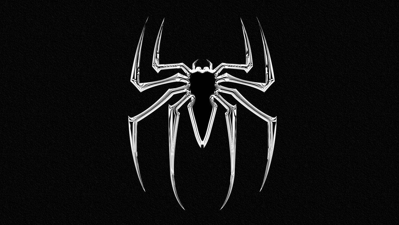 Black White Spider Wallpaper Best Wallpaper Hd Spider Superhero Wallpaper Black And White Spider