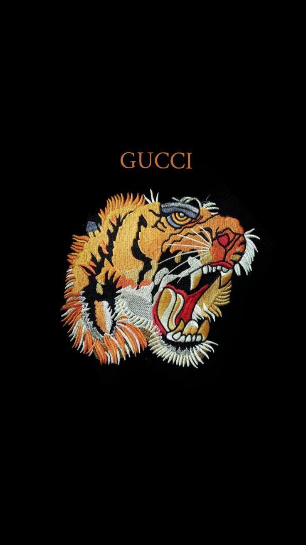 Gucci Tiger Hintergrund Lockscreen Iphonelockscreen Papier Peint D Art Fond D Ecran Iphone Fond D Ecran Gucci
