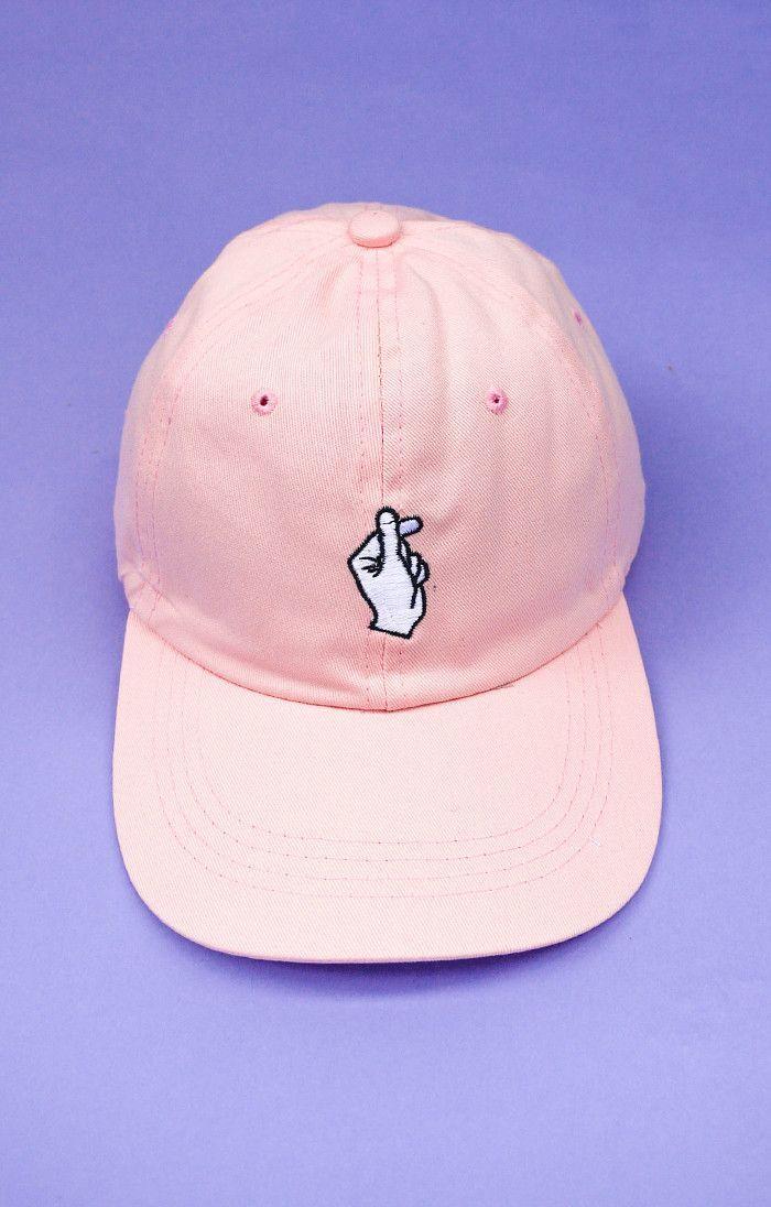 Finger Snap Cap | Pink