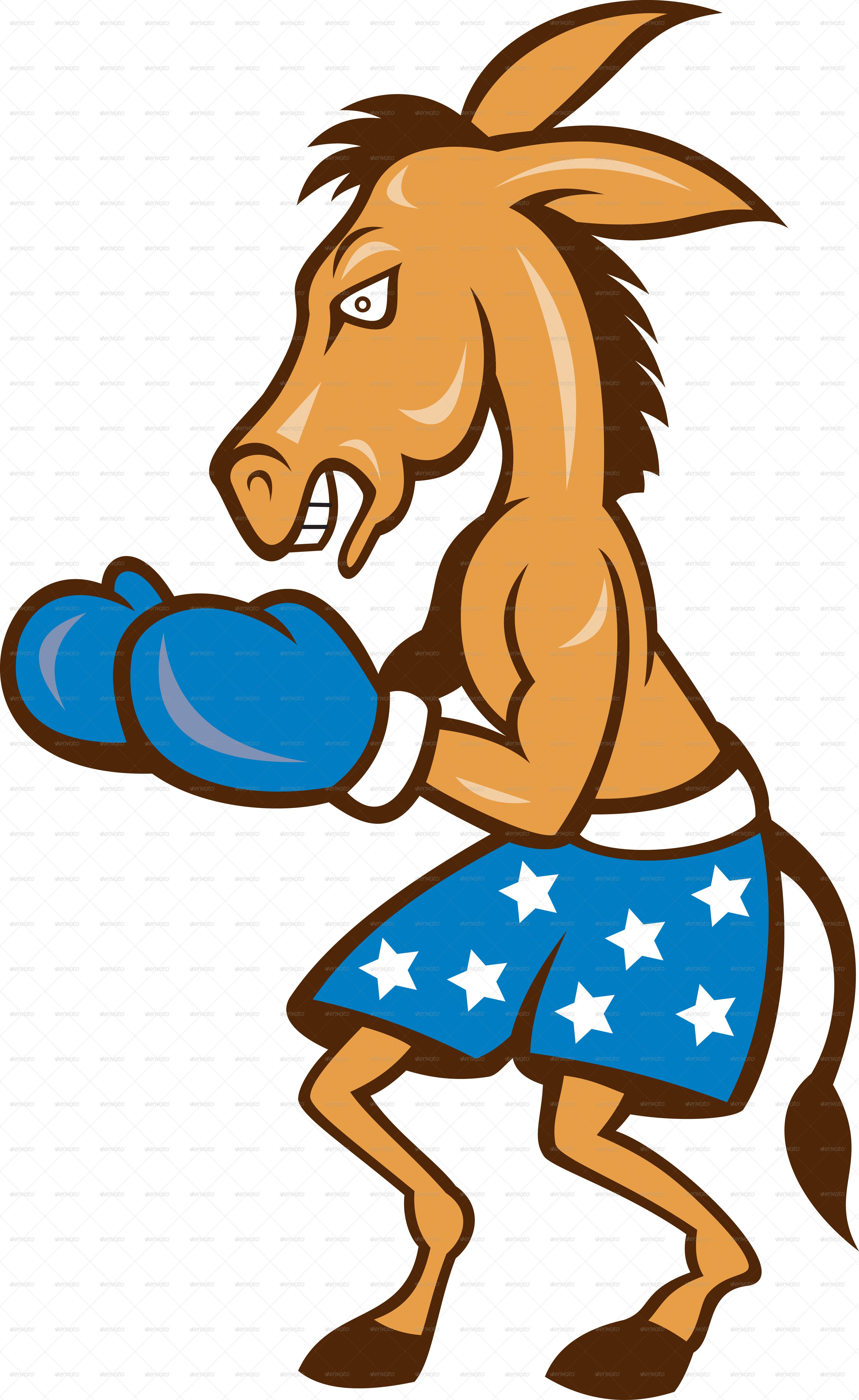 VECTOR DOWNLOAD (.ai, .psd) :: http://jquery-css.de/pinterest-itmid-1002320012i.html ... Donkey Jackass Boxing Stance  ...  animal, artwork, boxer, boxing, cartoon, democrat, donkey, equine, gloves, graphics, horse, illustration, jackass, mascot, shorts, star  ... Vectors Graphics Design Illustration Isolated Vector Templates Textures Stock Business Realistic eCommerce Wordpress Infographics Element Print Webdesign ... DOWNLOAD :: http://jquery-css.de/pinterest-itmid-1002320012i.html