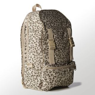 adidas leopard backpack