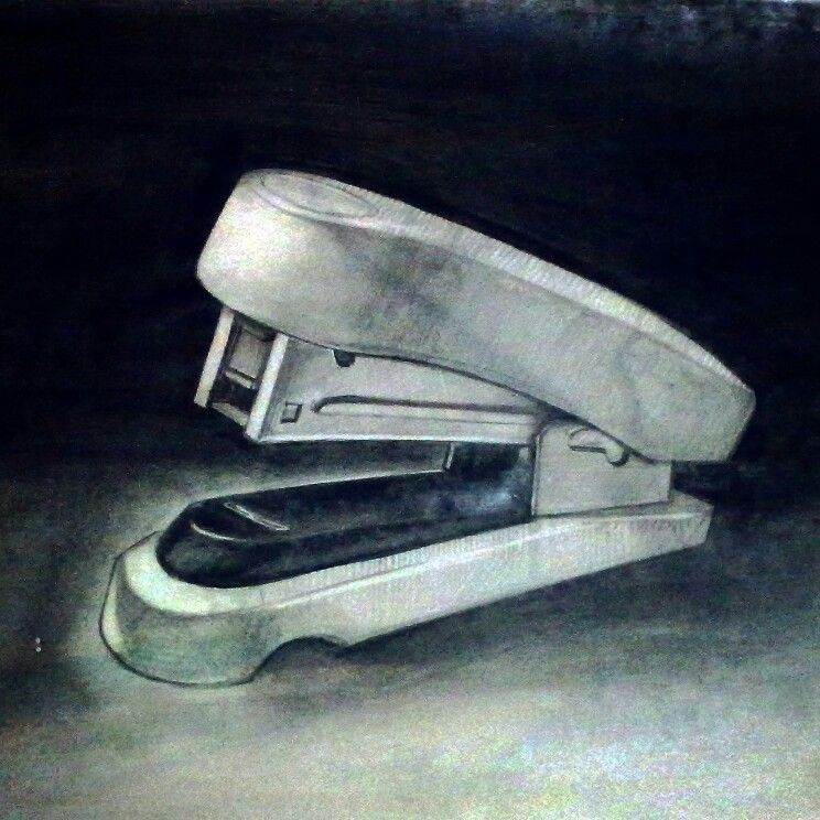 A graphite #drawing of a #stapler. | PERSONAL ART WORK | Pinterest ...