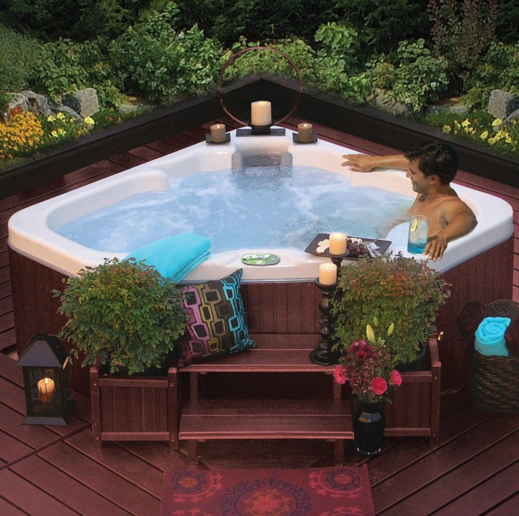 Triangle Spa Google Search Hot Tub Deck Tub Outdoor