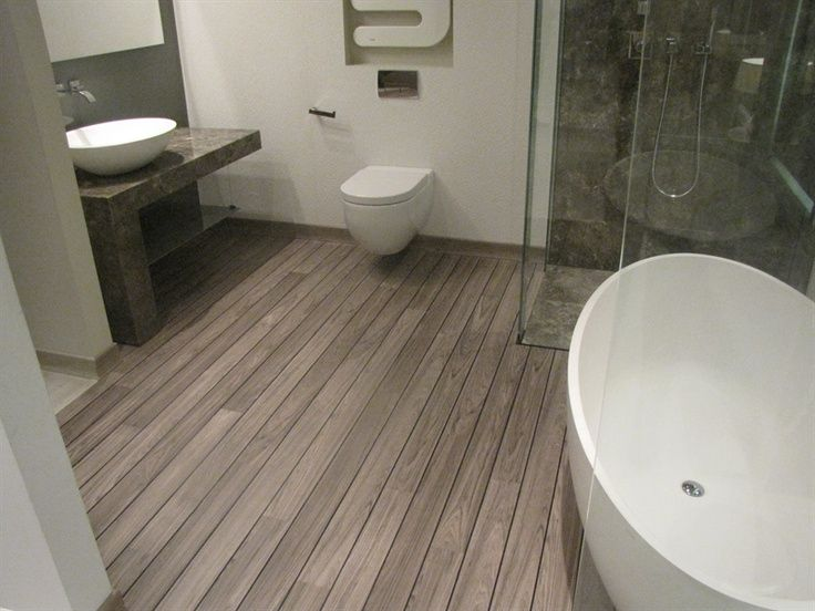 Quickstep lagune grey teak our future kitchen and bathroom floor home sweet home pinterest for Laminate flooring for kitchens and bathrooms