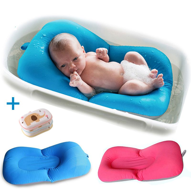 Padded Fold Able Baby Bath Tub Bath Chair For Newborn Baby Bath