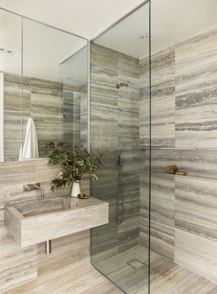 Curb Less Zero Threshold Shower Works To Install In Any Space As