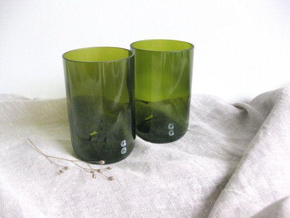 Trinkgläser  Glas von GreenGlaas auf Etsy