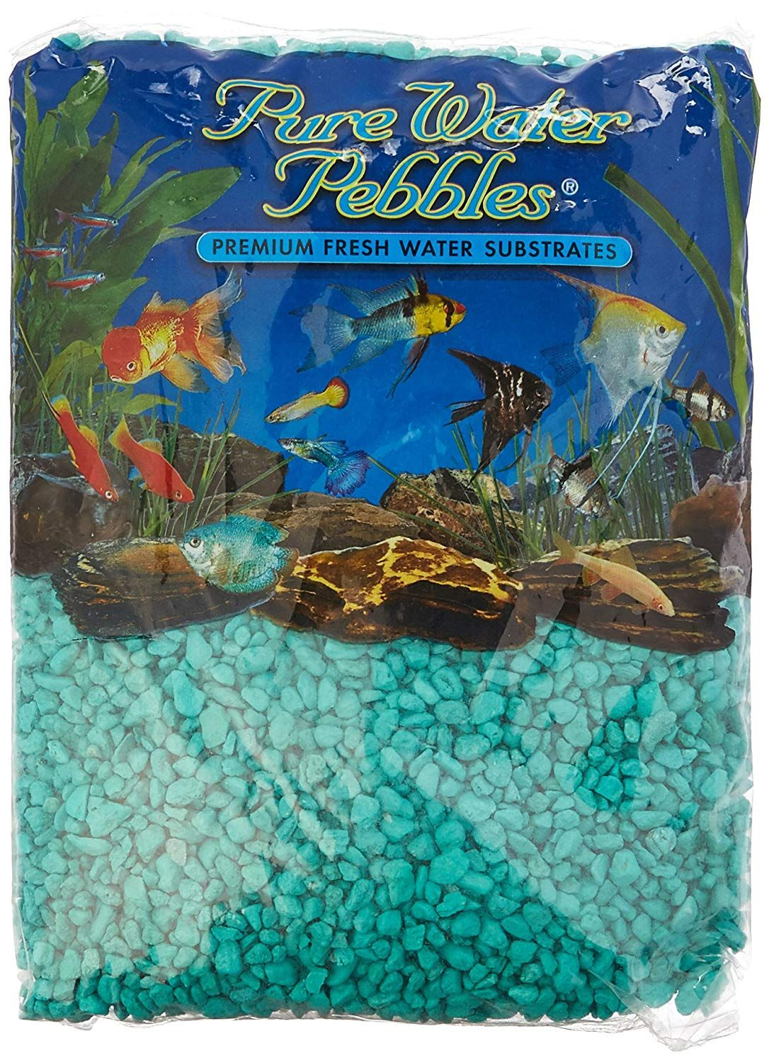 Pure Water Pebbles Aquarium Gravel 5 Pound Turquoise See The Photo Link Even More Details This Is An Affiliate Aquarium Gravel Fish Tank Gravel Aquarium