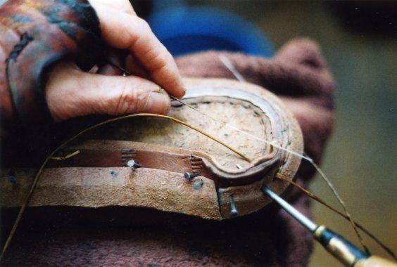Shoe Making http://www.sarahjuniper.co.uk/handm1.html