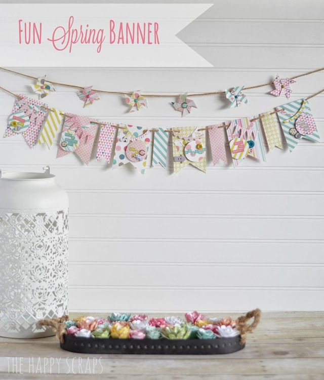 Do it yourself pretty spring projects pinterest banners scrap do it yourself pretty spring projects oh my creative solutioingenieria Images