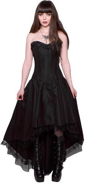 Monroe Corsagenkleid schwarz  horror-shop.com  Corsagenkleid