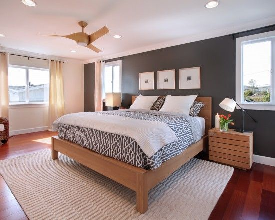 Accent Wall Design Ideas Pictures Remodel And Decor Modern Bedroom Interior Modern Master Bedroom Design Stylish Bedroom Design