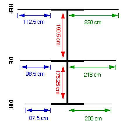 3 Element 20 Meter Hamstick Mini Beam Yagi - VE6VK