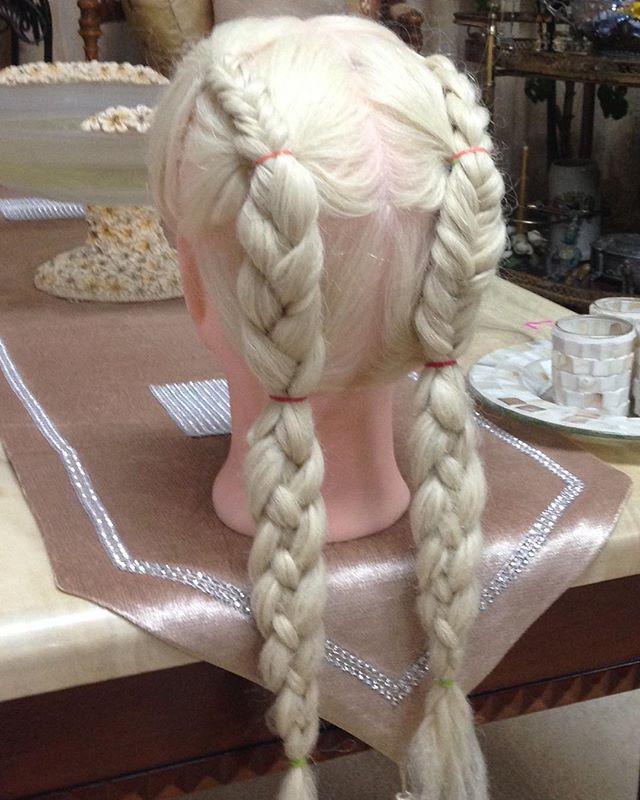 #kidshair#mixedbraids #elastics#fishtail#frenchbraid#harbraids
