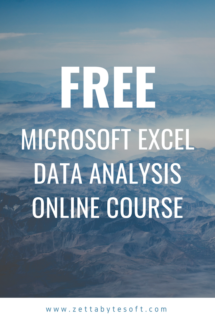 This Free Excel Course Will Help You To Jump Into Your First Job Or