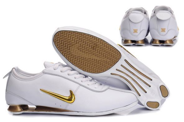 fashion styles amazing selection available Chaussures Nike Shox Rivalry Homme Electroplat Blanc/Doré | Nike ...