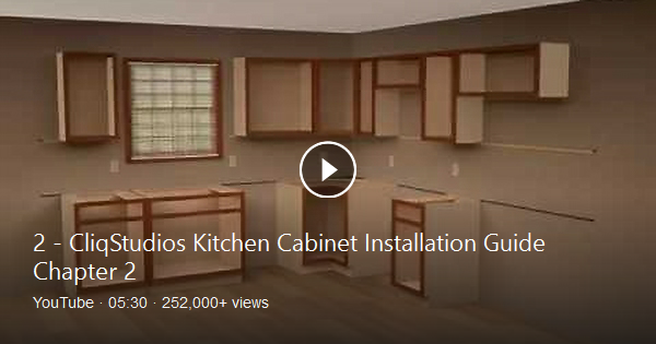 Step By Step Guide For Professional Installation Of Wall Cabinets Locate And Mark Studs On All Cabinet Walls Use Installing Cabinets Wall Cabinet Stud Walls