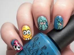 Cartoon Character Nails Google Search Cute Nail Art Designs Cute Nail Art Nail Art Designs