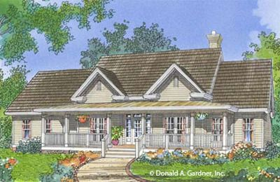 House Plans The Cloverdale Home Plan 490