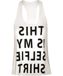 Γυναικεία μπλούζα Selfie t-shirt.Δες το εδώ--> http://be-casual.gr/gynaika/mplouzes/mplouza-selfie-t-shirt.html