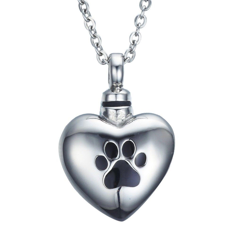 Amist warm heart dog paw print cremation jewelry urn necklace amist warm heart dog paw print cremation jewelry urn necklace aloadofball Choice Image