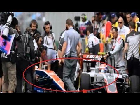 Rio Haryanto Tabrakan Saat Latihan Di F1 Australia