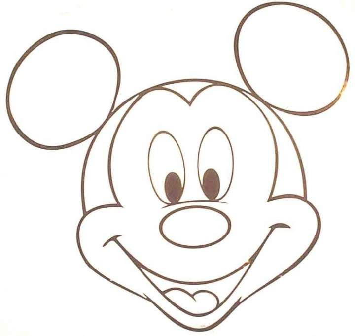 Comment dessiner mickey dessins pinterest quilling - Dessiner mickey ...
