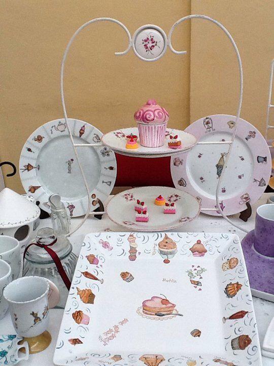 platos para tortas