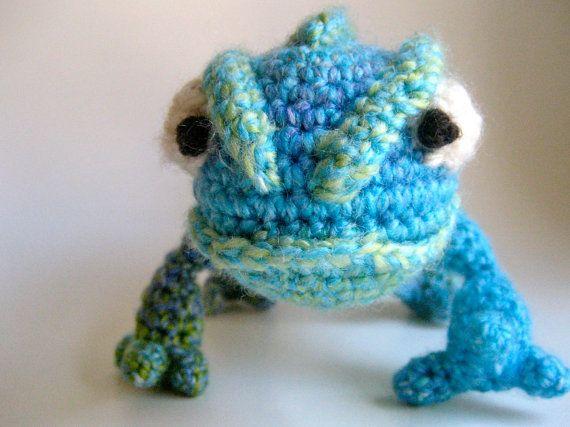 Pascal the Chameleon   AWSOME   Pinterest   Stricken, Häkeln und Nähen