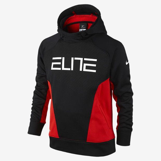 b478a0ed144b on Grant s wish list- Nike Elite Pullover Boys  Basketball Hoodie ...